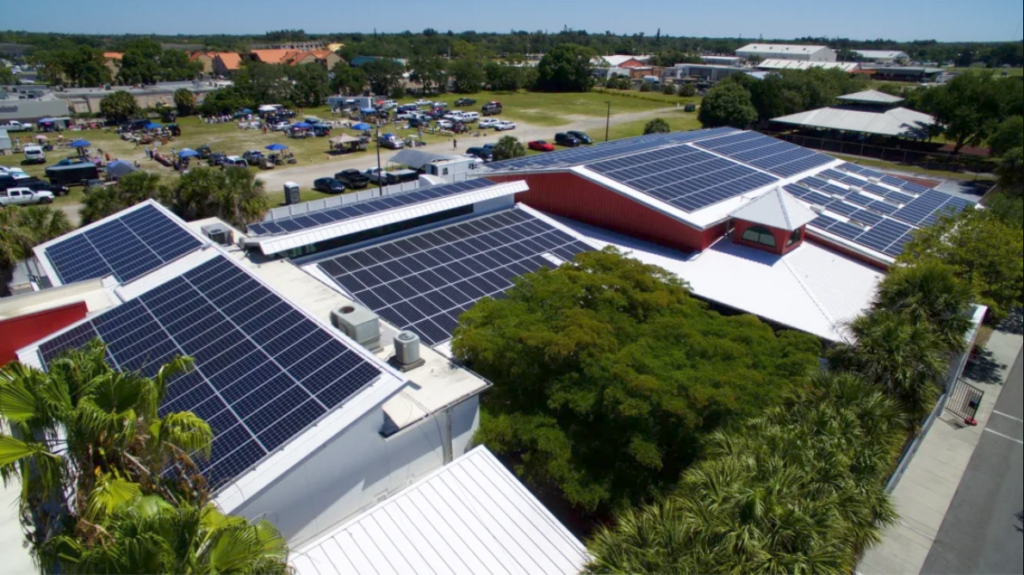Girls Inc. Flips the Switch on Largest Solar Array in Sarasota County