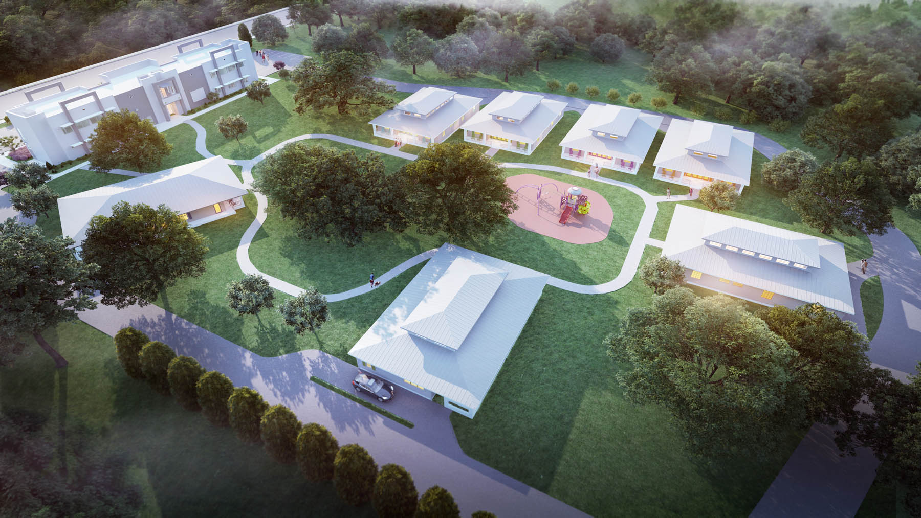 Building a Campus of Hope and Healing