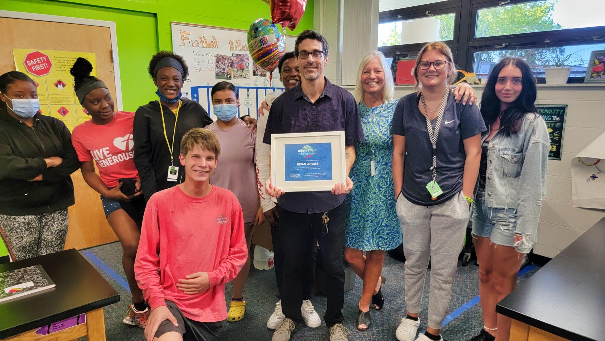 Barancik Foundation Names Fall Semester Ripple Effect Teacher Award Winners